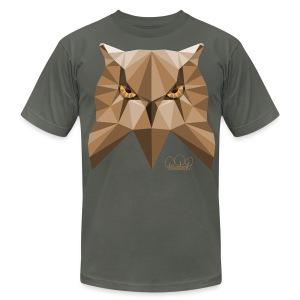 Wise Owl Men's T-Shirt by American Apparel  - Men's Fine Jersey T-Shirt