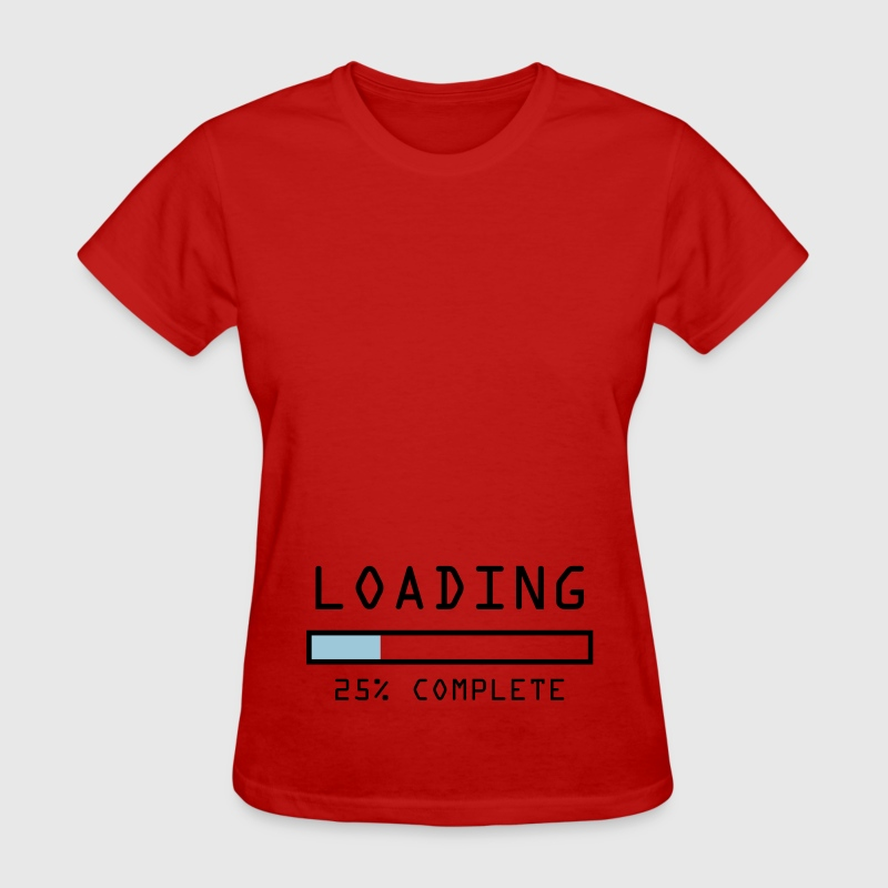 Pregnancy announcement t-shirt Loading 25%  - Women's T-Shirt