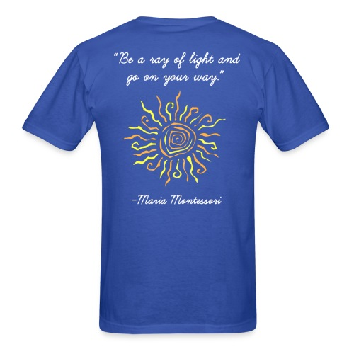 Ray of Light - Men's T-Shirt