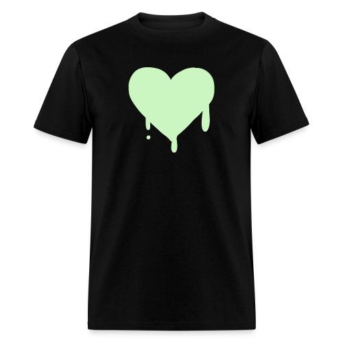 Dee's Drippy Heart Shirt - Men's T-Shirt