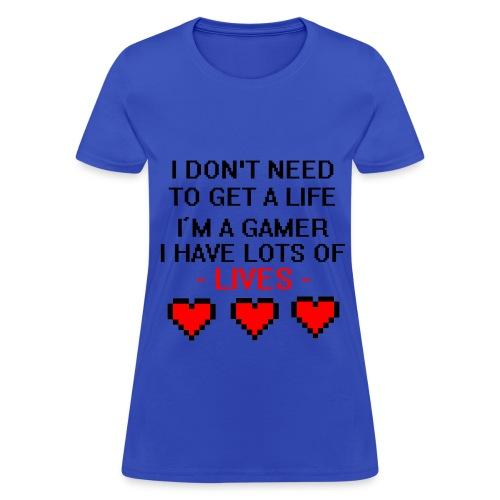 Lives - Women's T-Shirt