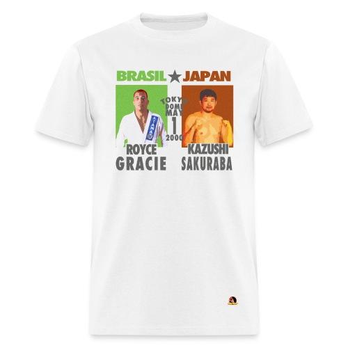 Royce Gracie Vs Kazushi Sakuraba - Men's T-Shirt