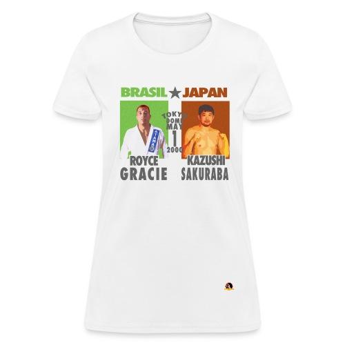 Royce Gracie Vs Kazushi Sakuraba - Women's T-Shirt