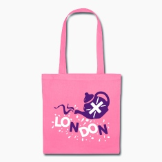 LONDON Tea pot Tote Bag