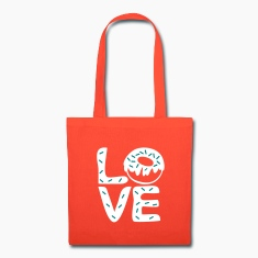LOVE Donuts Tote Bag