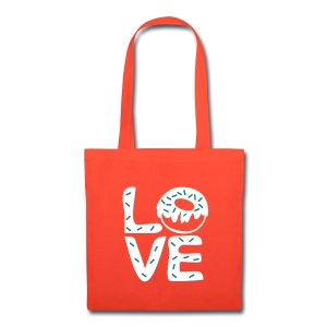 LOVE Donuts Tote Bag - Tote Bag