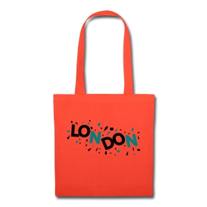 Colorful LONDON logo Tote Bag - Tote Bag