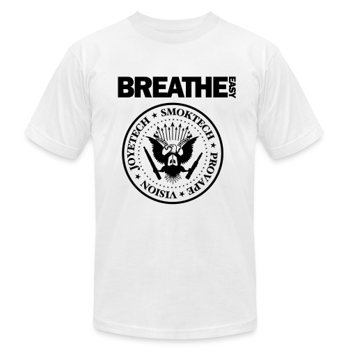Breathe Easy Ramones Tee  - Men's  Jersey T-Shirt