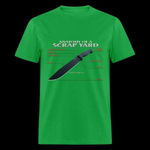 Anatomy of a Scrap Yard Lightweight Tee - Men's T-Shirt