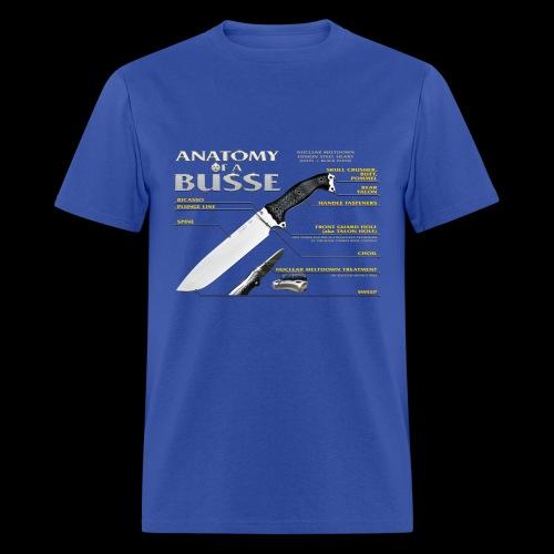 Anatomy of a Busse Lightweight Tee - Men's T-Shirt