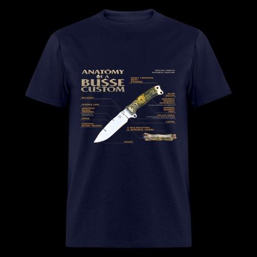 Anatomy of a Custom Lightweight Tee - Men's T-Shirt