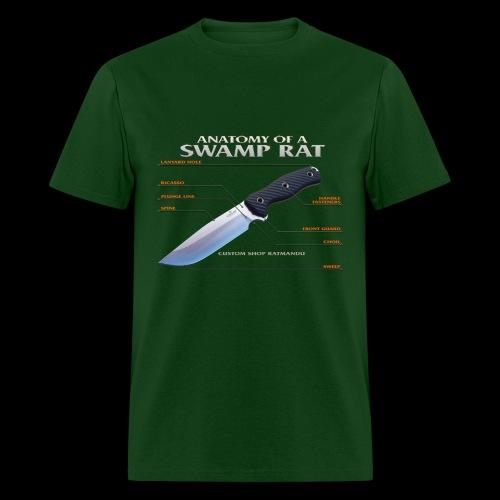 Anatomy of a Swamp Rat Lightweight Tee - Men's T-Shirt