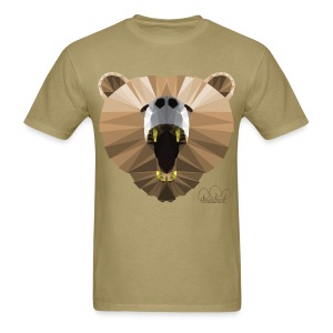 Men's Hungry Bear Standard weight t-shirt  - Men's T-Shirt