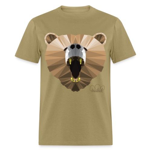 Men's Hungry Bear Standard weight t-shirt  - Men's T-Shirt