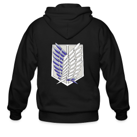 Attack On Titan Scouting Legion Hoodie ~ 371
