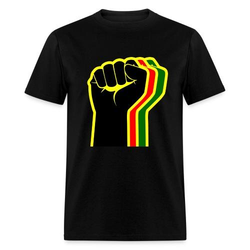 Rasta Fist Men - Men's T-Shirt