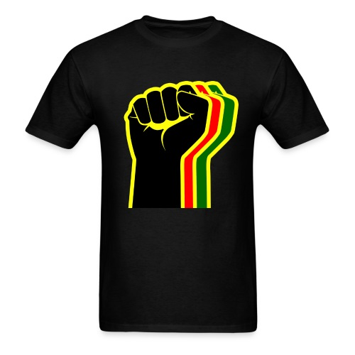 Rasta Fist Men - Men's T-Shirt
