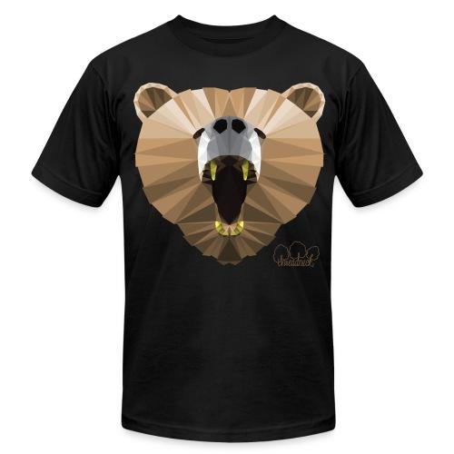 Hungry Bear Men's T-Shirt by American Apparel  - Men's Fine Jersey T-Shirt