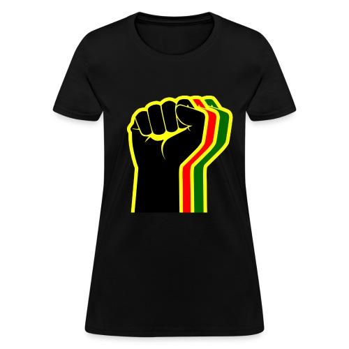 Rasta Fist Women - Women's T-Shirt