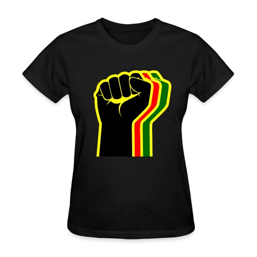 Rasta Fist Women - Women's T-Shirt