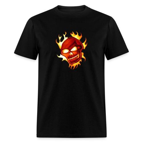 Voodoo Skull medium image - Men's T-Shirt