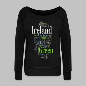 P.S. I Love Ireland Women's Wideneck Sweatshirt - Women's Wideneck Sweatshirt
