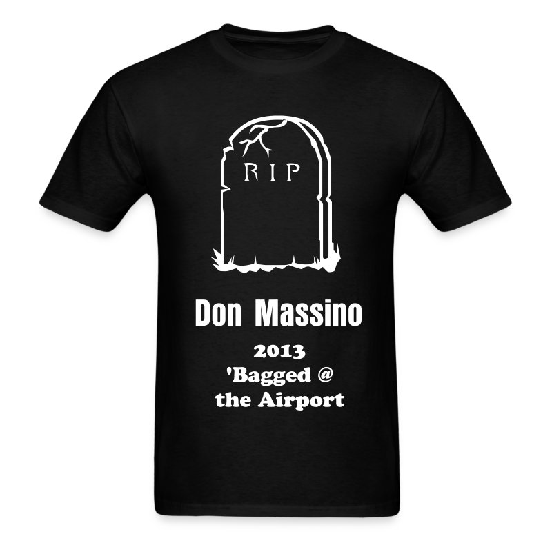 RIP Gravestone - Men's T-Shirt