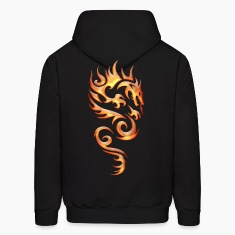 Tribal Fire Dragon Hoodies