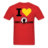 T-Shirts ~ Men's T-Shirt ~ I Heart ZGB