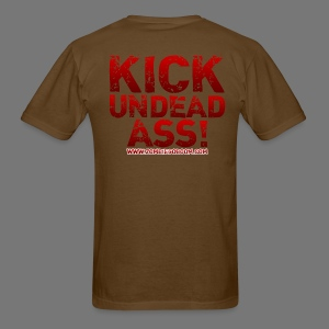 Kick Undead Ass - Men's T-Shirt
