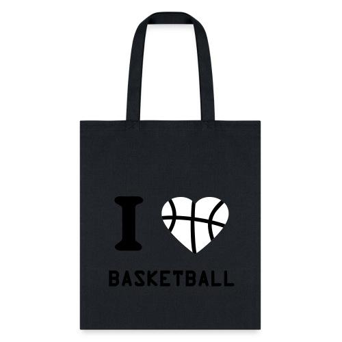 Hoops by Liz I HEART Basketball Bag - Tote Bag