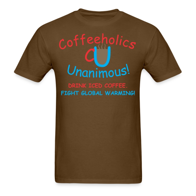 CU global warming - Men's T-Shirt
