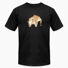 origami: elephant (parchment paper look) T-Shirts
