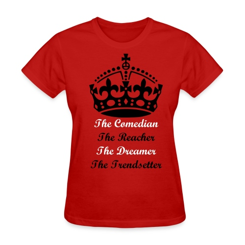 Womens The Tee Red - Women's T-Shirt