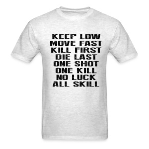 Keep Low - Men's T-Shirt