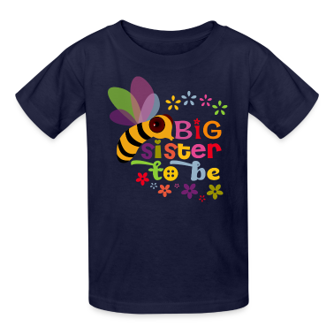 Big Sister to be Kids' Shirts