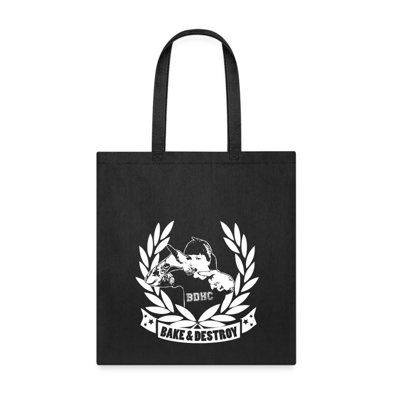 Bake and Destroy Tote Bag - Tote Bag