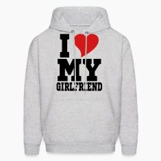 i Love My Girlfriend Hoodies