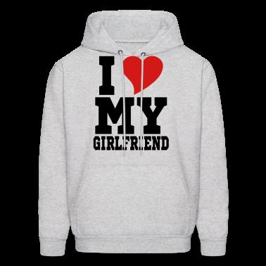 i Love My Girlfriend Hoodies