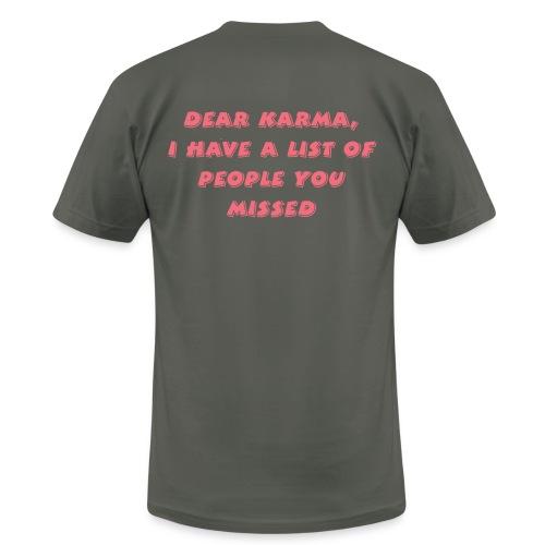 Karma T Shirt - Men's Fine Jersey T-Shirt