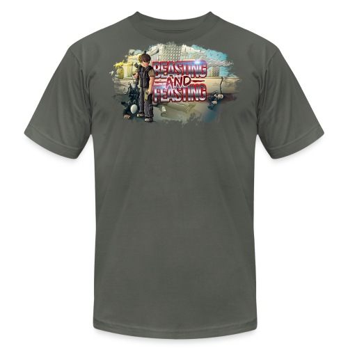 Beasting & Feasting (M) [Higher Quality] - Men's Fine Jersey T-Shirt