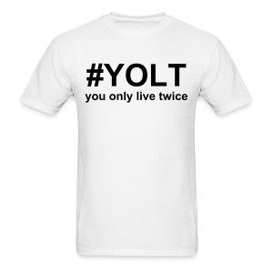 You only live twice - Men's T-Shirt
