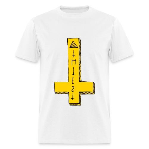 Atheist Cross - Men's T-Shirt