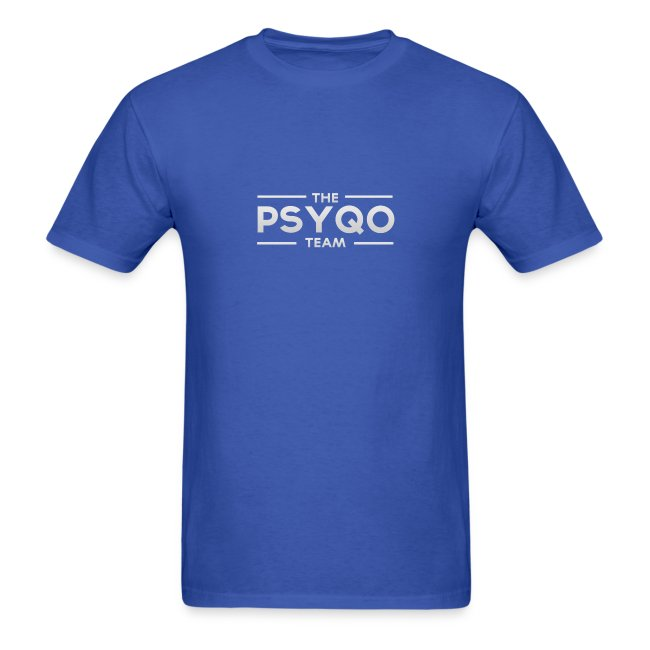 """The PsyQo Team"" Men's T-Shirt"