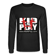 Long Sleeve Shirts ~ Men's Long Sleeve T-Shirt ~ Kid N Play