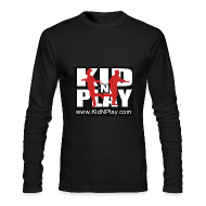 Long Sleeve Shirts ~ Men's Long Sleeve T-Shirt by Next Level ~ Kid N Play