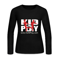 Long Sleeve Shirts ~ Women's Long Sleeve Jersey T-Shirt ~ Kid N Play