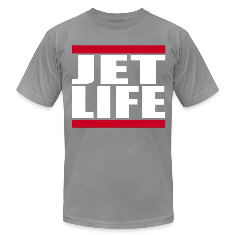 Jet Life - Men's T-Shirt by American Apparel