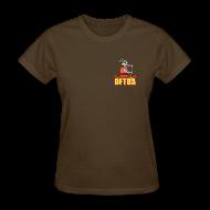 T-Shirts ~ Women's T-Shirt ~ Goat in Canoe (plain back) - Women's Standard