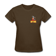 Women's T-Shirts ~ Women's T-Shirt ~ Goat in Canoe (plain back) - Women's Standard